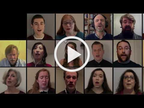 Orthodox Virtual Choir: By The Waters Of Babylon (Kievan Chant)