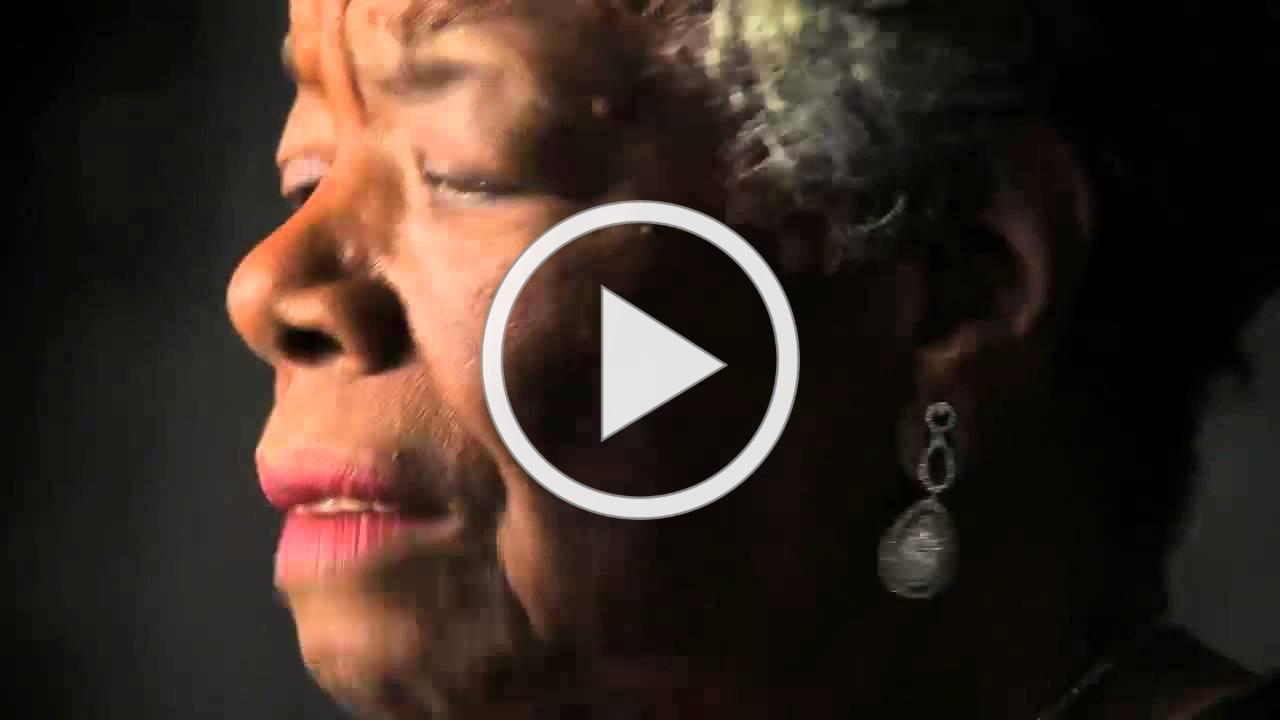 """Dr. Maya Angelou: """"Be a Rainbow in Someone Else's Cloud"""" 