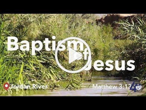 Bible Live: Baptism of Jesus - Script