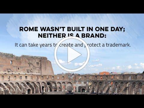 Rome Wasn't Built in a Day and Neither is Trademark Protection