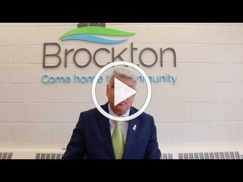 COVID-19 Update #2 from Brockton Mayor Chris Peabody