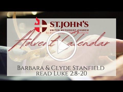 Barbara & Clyde Stanfield | St. John's Advent Calendar