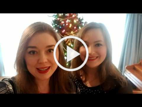 Here's are Christmas video greeting. Merry Christmas!