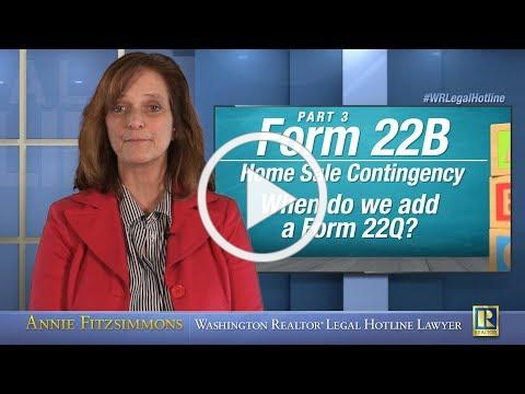 Form 22B: Home Sale Contingency - Part 3