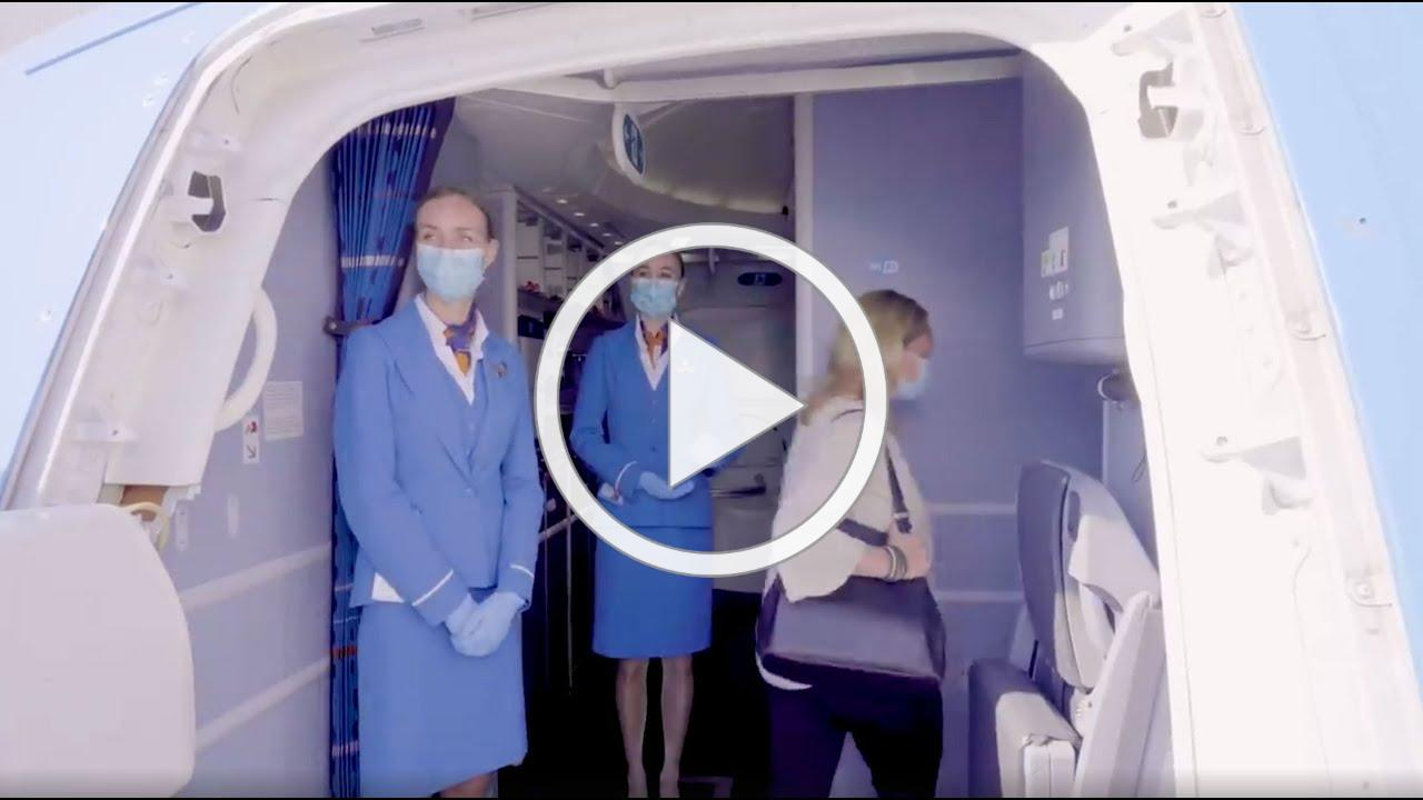 Enjoy a safe and smooth journey with KLM