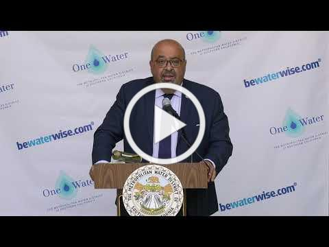 Water Supply Alert Press Conference