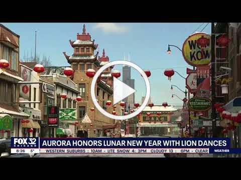 Fox 32 Chicago: Aurora Celebrates Lunar New Year