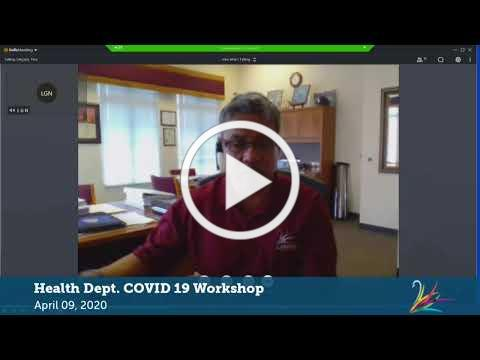 COVID-19 Workshop with Dr. Joy Jackson (LIVE at 3 PM)