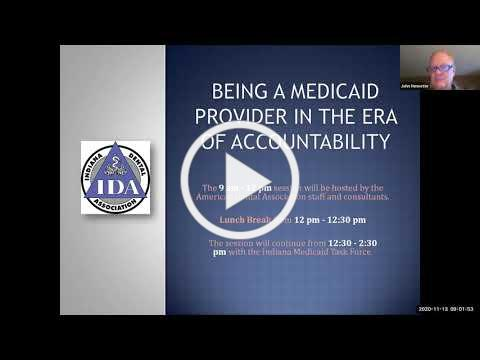 Being a Medicaid Provider in the Era of Accountability