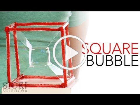Square Bubble - Sick Science! #149