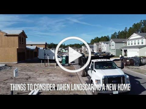 Tips To Consider When Landscaping A New Home