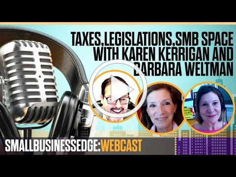 Small Business Edge Webcast with Karen Kerrigan and Barbara Weltman