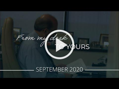 From My Desk to Yours | September 2020