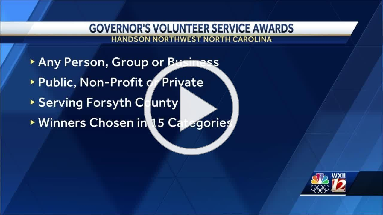 Governor's Volunteer Service Awards