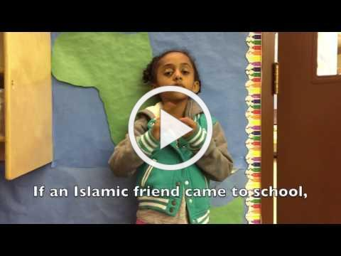 What would we do if a Muslim friend came to school?