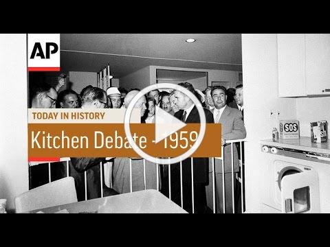 US-USSR Kitchen Debate - 1959 | Today in History | 24 July 16
