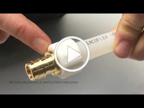 Tutorial de montaje de tuberías pex GX de Giacomini