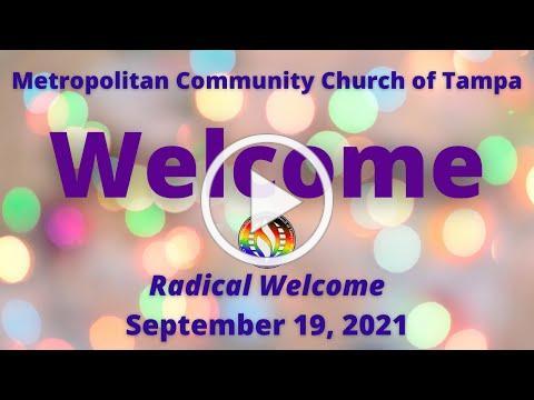 MCC Tampa Sunday Service Sept 19, 2021