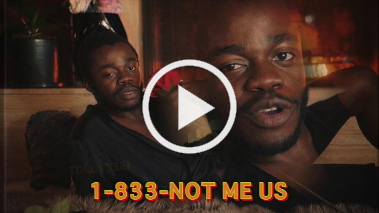 "Call 1-833-NOT-ME-US ""BOTTOM 90%"""