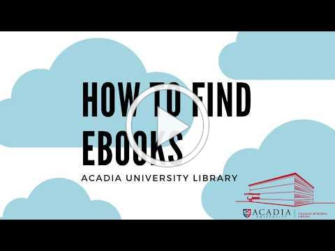 How to - find Ebooks