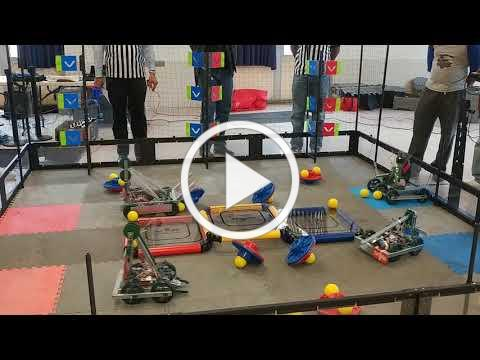 Robotics competition at Poly.