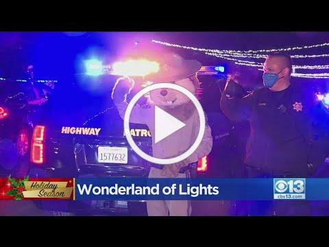 Thousands Show Up For Wonderland Of Lights Drive-Thru At Cal Expo
