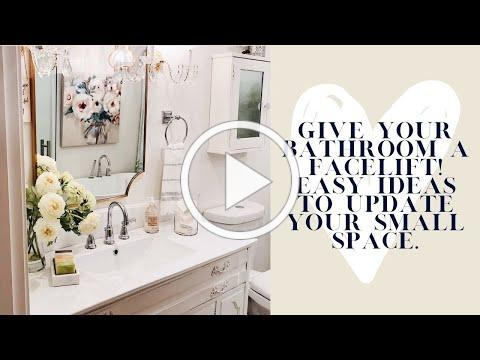 Bathrooms | Updating your Small Space