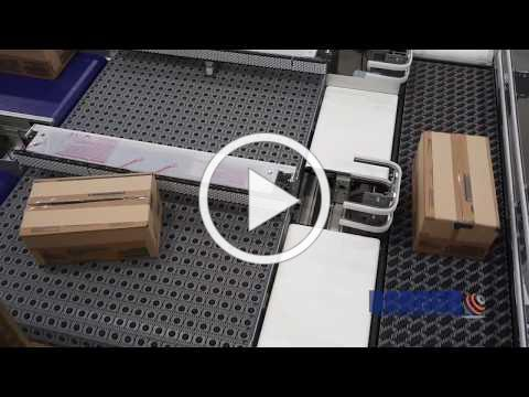 Case Handling System with 3200 Series ARB Conveyors