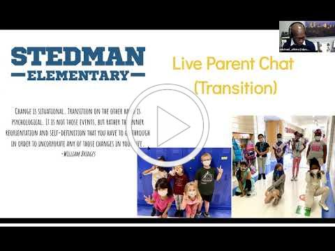 Stedman Live Chat Nov. 20, 2020