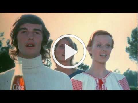 """Coca-Cola, 1971 - 'Hilltop' 