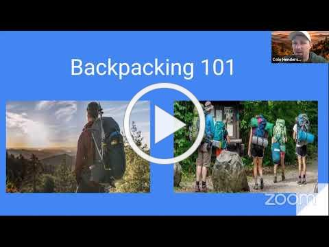 Outdoor Chattanooga | Backpacking 101 Workshop
