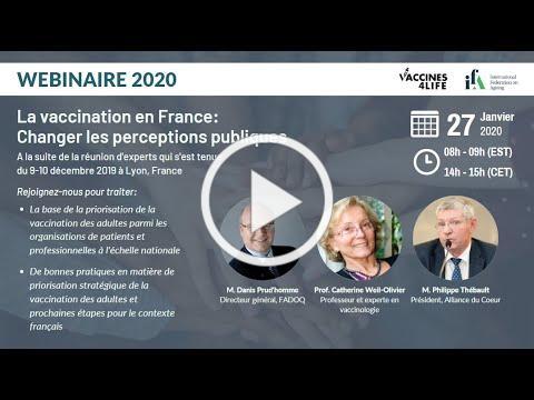 IFA Webinar | La vaccination en France: Changer les perceptions publiques