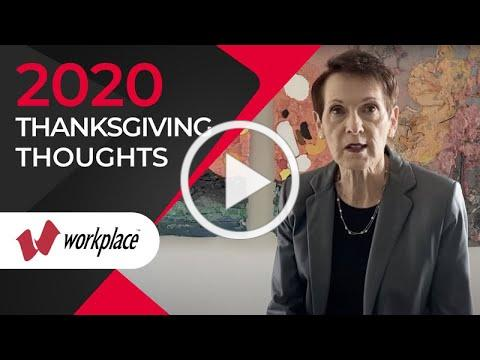 2020 Thanksgiving Thoughts