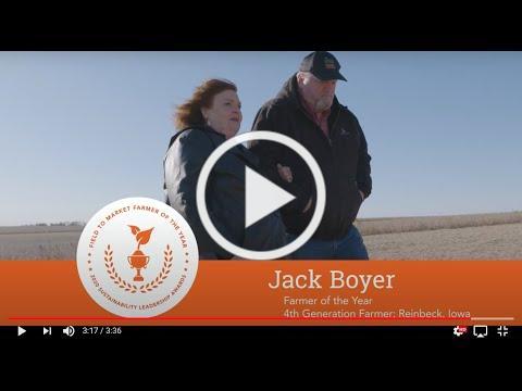 Field to Market 2020 Farmer of the Year Jack Boyer