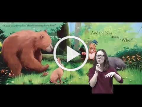 Bear's New Friend Children's ASL Story