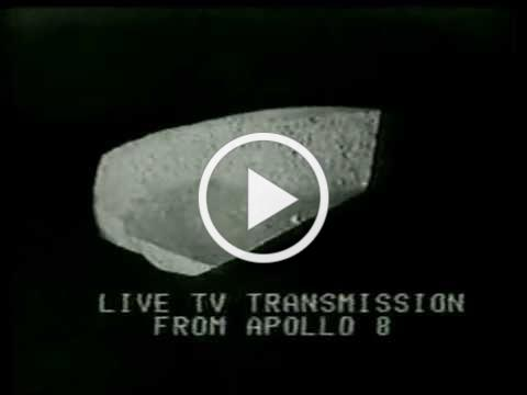 CBS News Coverage of Apollo 8 Part 37 (Christmas Eve Reading Of Genisis)