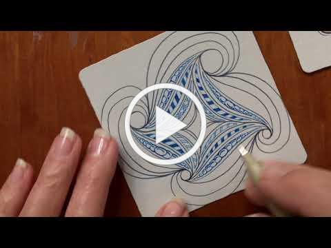 Project Pack No. 07: 12 Days of Zentangle - Day 08