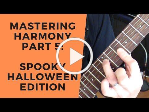 MH5: More Chords, Minor Keys (HALLOWEEN EDITION)