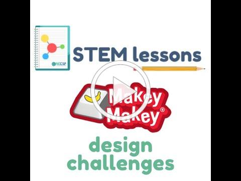 STEM LESSON - MAKEY MAKEY DESIGN CHALLENGES in English