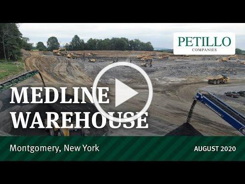 Medline Warehouse - Montgomery, New York - August 2020