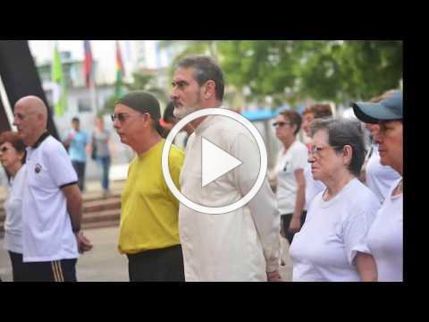 World Taiji&Qigong Day -2018-Bucaramanga-Colombia.parte 1.