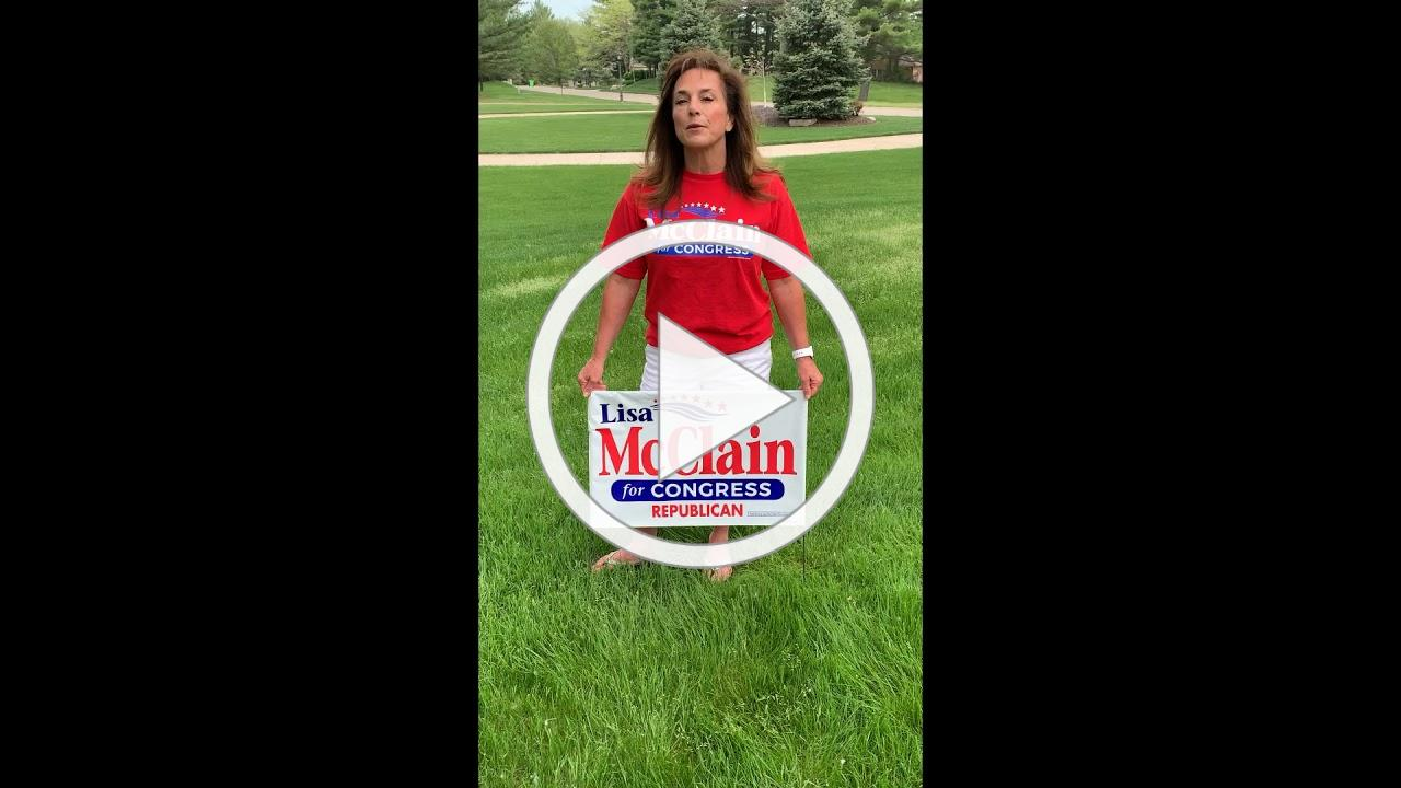 Lisa McClain Yard Signs are in!