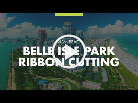 Belle Isle Park Ribbon Cutting