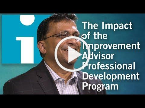 The Day-to-Day Impact of Attending the Improvement Advisor Professional Development Program