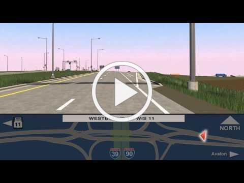 WIS 11 (Avalon Road) interchange, Diverging Diamond Interchange