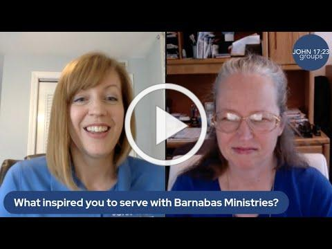 Sandra, why do you volunteer for Barnabas Ministries?