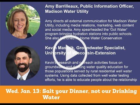 Wednesday: Salt your Dinner, Not our Drinking Water