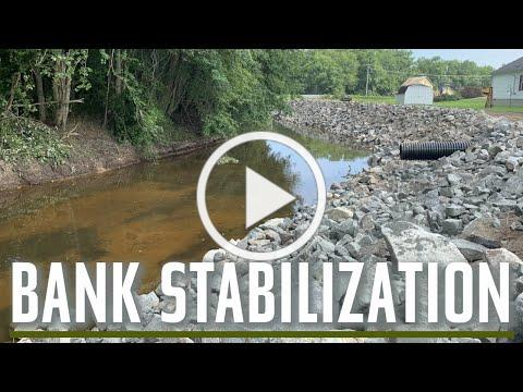 Tax Ditch Bank Stabilization