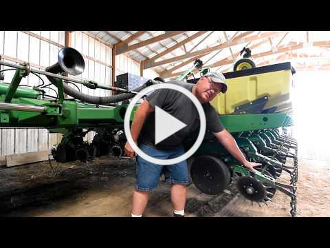 Planting No-Till Soybeans into Living Rye Cover Crop