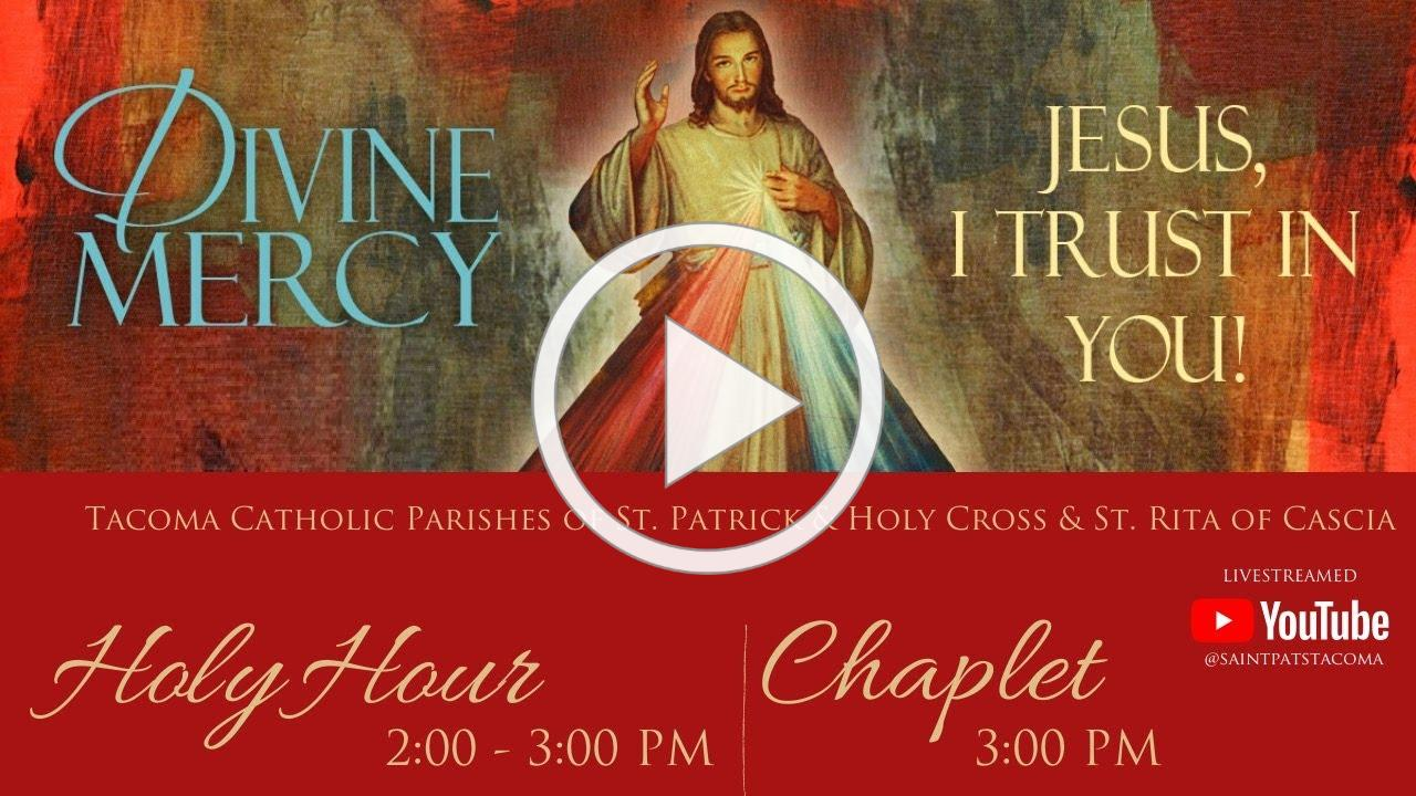Divine Mercy Sunday 2020 | Holy Hour & Chaplet